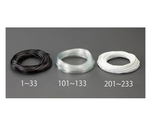 ビニール絶縁チューブ(透明 5.0x0.4mmx20m EA944AE-121