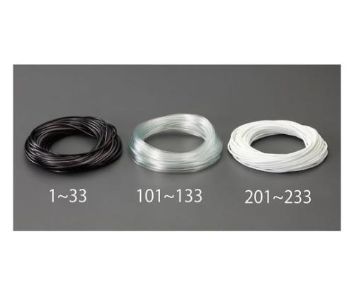 ビニール絶縁チューブ(透明 6.0x0.4mmx20m EA944AE-131