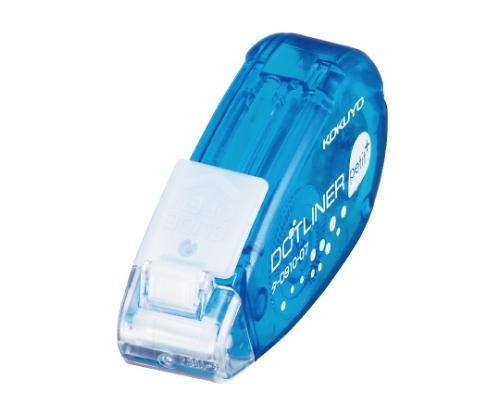 ドットライナー・プチプラス(テープのり・使いきりタイプ) しっかり貼るタイプ 青 7mm×10m