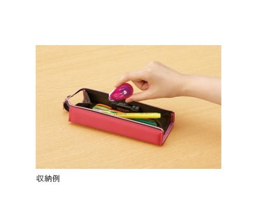 [取扱停止]ドットライナー・プチプラス(テープのり・使いきりタイプ) しっかり貼るタイプ ピンク 7mm×10m