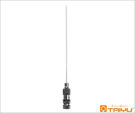 [取扱停止]木村式ルンバール針 細 角基 21G 0.8×60mm #-131S