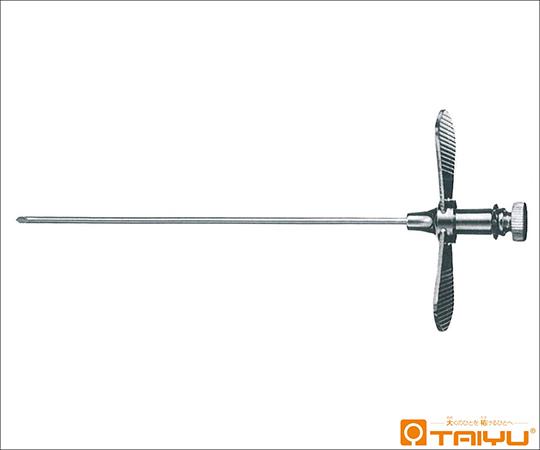 [取扱停止]西邑式硬膜外麻酔針(羽付) 直 17G 1.4×80mm K34-01