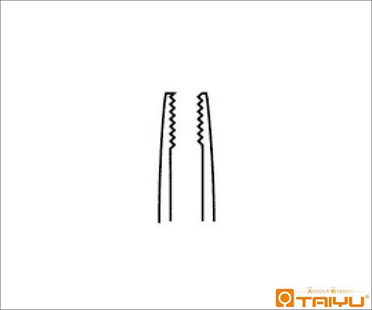アドソンブラウン鑷子 併式 ダボ付 全長12.5cm TY-053D
