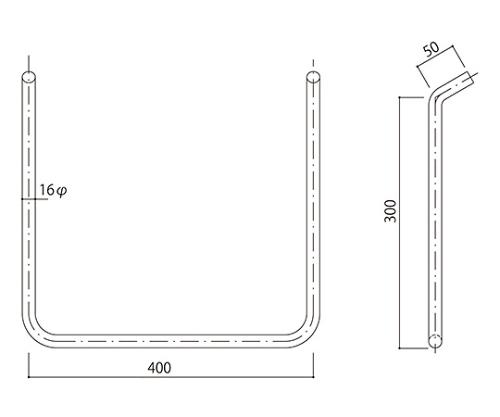 タラップ ステンレス丸鋼 SST-16-400x300
