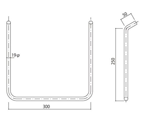 タラップ ステンレス丸鋼 SST-19-300x250