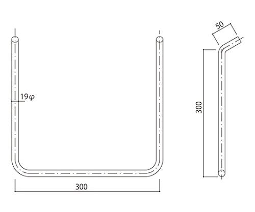 タラップ ステンレス丸鋼 SST-19-300x300