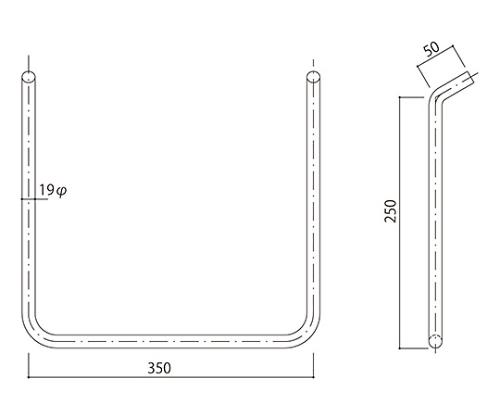 タラップ ステンレス丸鋼 SST-19-350x250