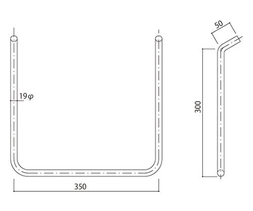 タラップ ステンレス丸鋼 SST-19-350x300