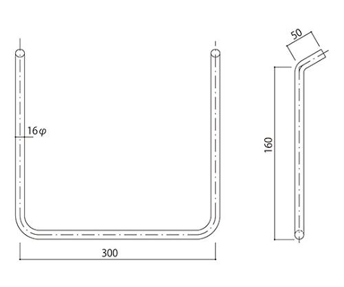 タラップ 鋼製 T-16-300x160