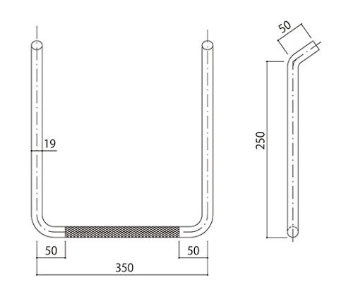 タラップ (ローレット加工) SST-19R-350x250