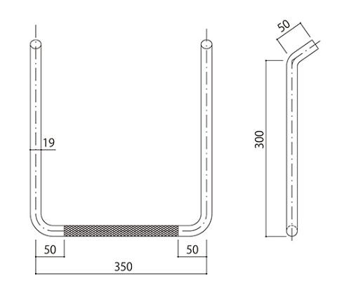 タラップ (ローレット加工) SST-19R-350x300