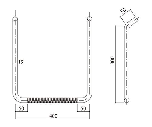 タラップ (ローレット加工) SST-19R-400x300