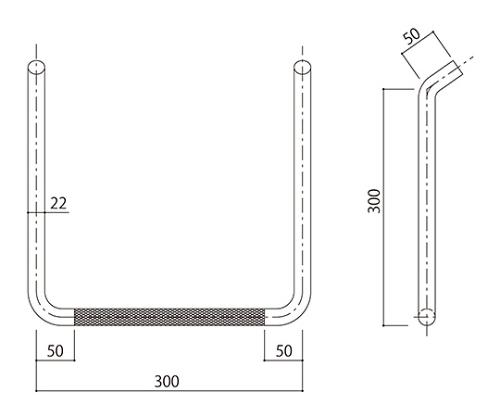 タラップ (ローレット加工) SST-22R-300x300 SST-22R-300x300
