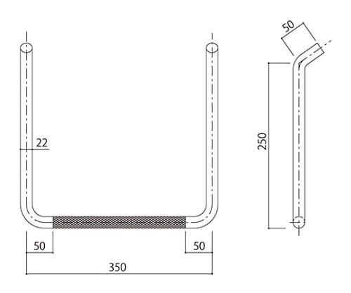 タラップ (ローレット加工) SST-22R-350x250 SST-22R-350x250