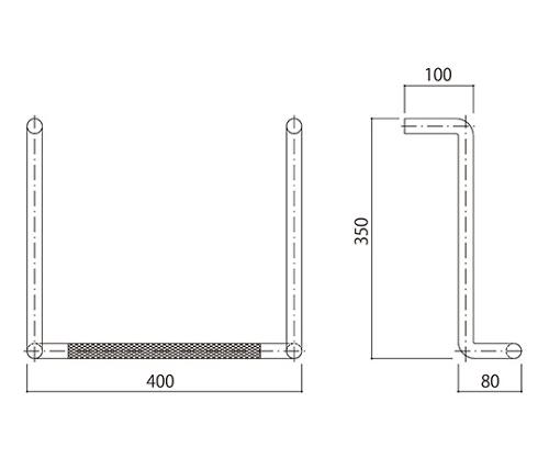 タラップ (ローレット加工) SK-832-1(A)R