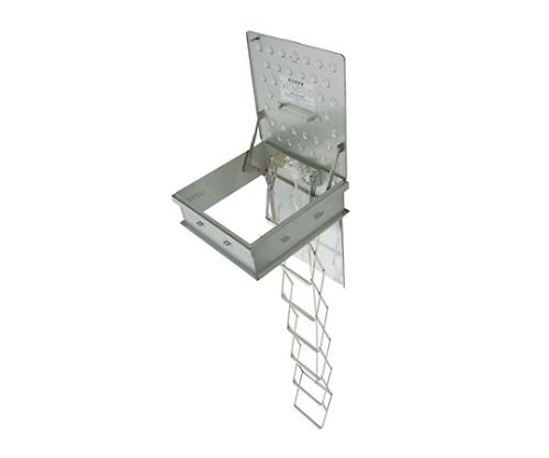 角型避難ハッチ