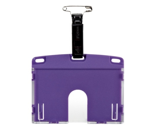 タッグ名札 アーバンスタイル ハードタイプ 紫 NU-6P-PR