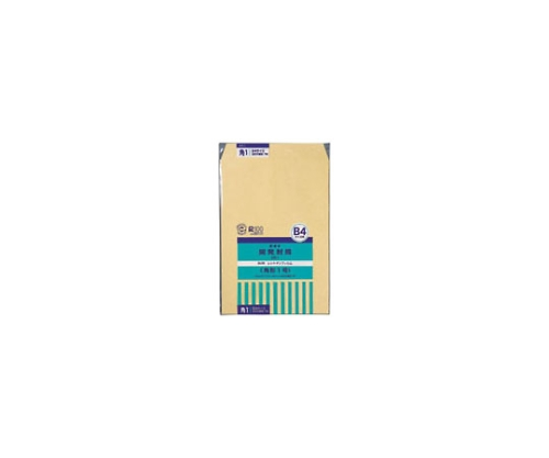 開発封筒 クラフト製・パック入 角1 1ゴウ(KK1)