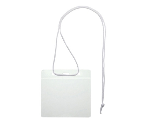 吊り下げ名札 イベント用 紐:白 VN-343-W