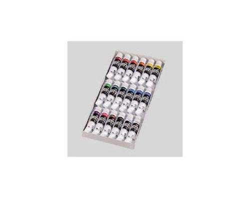 ポスターカラー 普通色11cc 18色セット(白2本入) 18ショクスクールセット