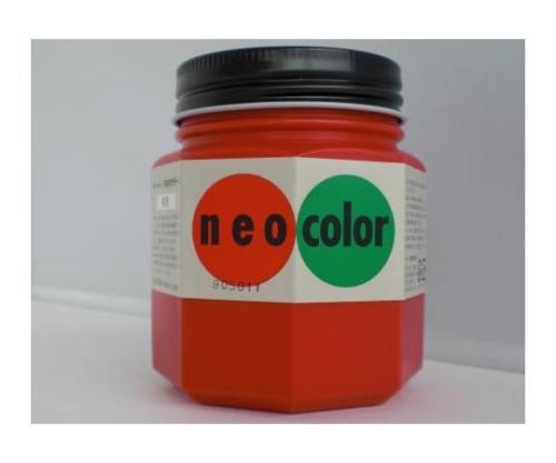 ネオカラー 250ml瓶入(インク色:朱赤)