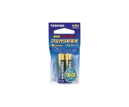 [取扱停止]アルカリ乾電池 エコパッケージ 単4形 2本入 LR03AG 2EC