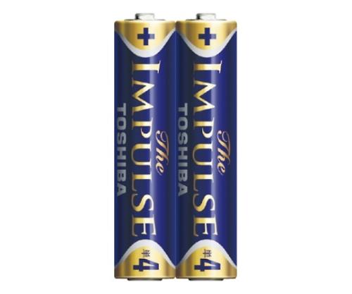 アルカリ乾電池 ザ・インパルス シュリンクパック 単4形 2本入 LR03HS 2KP