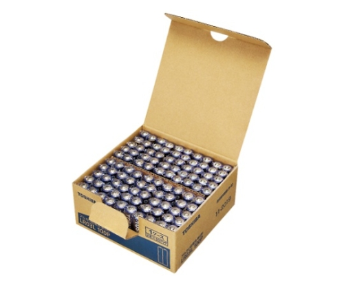 アルカリ乾電池 シュリンクパック 単4形 100本入 LR03L 100P