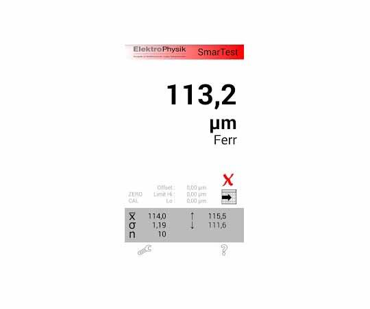 電磁式膜厚計 スマーテスト F2.6 80-126-0100