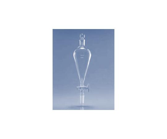 透明摺合せ分液ロート(スキーブ形)