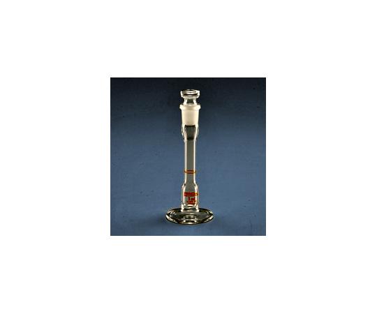 台付きメスフラスコ(摺合せ栓付き)