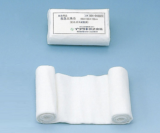 滅菌救急三角巾 105×105×150cm