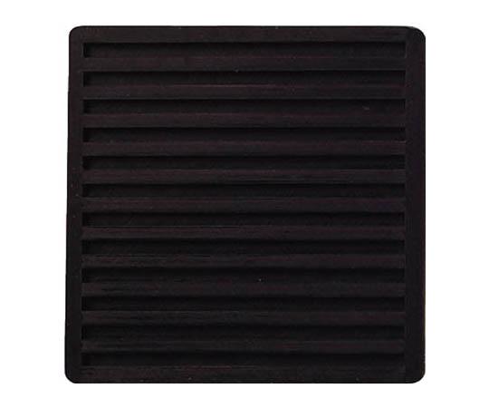 防振ゴム 黒 100×100×10 2個1組