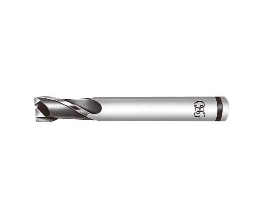 ハイススクエアエンドミル XPM2刃ショート XPM-EDS-3.7