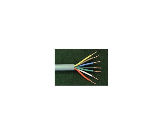 ビニールキャブタイヤ(UBVCT)多芯 (5.5sq 外径16.5mm) 1m UBVCT 4C-5.5sq