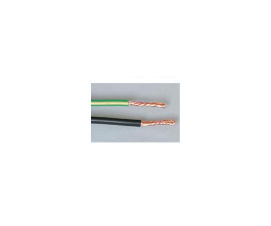 海外規格ケーブル 一般配線用 THHW (外径10.0mm) 黄/緑