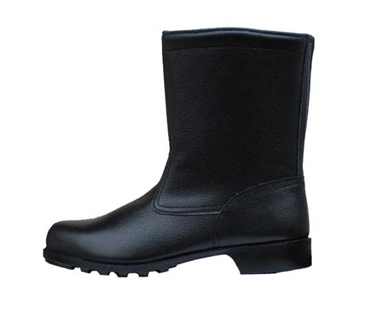 ゴム底安全靴 半長靴 HS400N