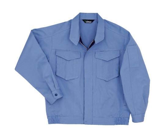 綿100%ブルゾン ライトブルー L