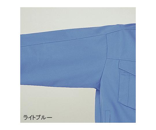 綿100%ブルゾン ライトブルー M