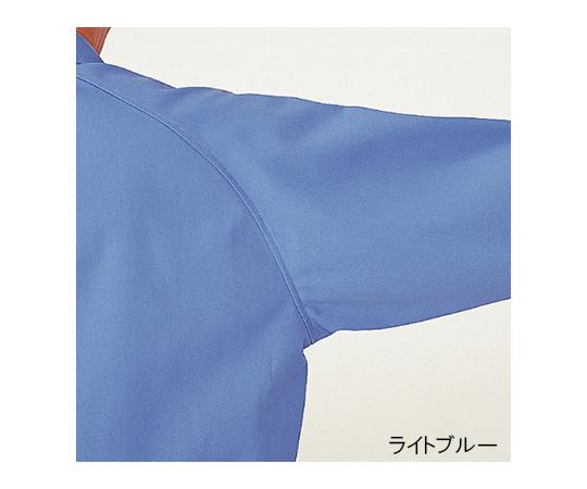 綿100%ブルゾン シルバーグレー 3L G361-UE-3L