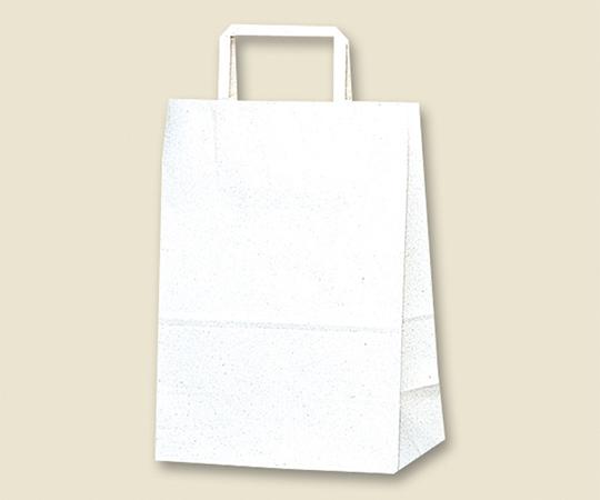HEIKO 紙袋 H25チャームバッグ S1(平手) 白無地 50枚 003262900