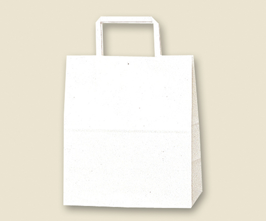HEIKO 紙袋 H25チャームバッグ S2(平手) 白無地 50枚 003263600