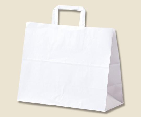 HEIKO 紙袋 25チャームバッグ 25CB 32-6(平手) 白無地 50枚 003262610