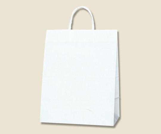 HEIKO 紙袋 スムースバッグ ワイド M 底ボール入 白無地 25枚 003135210