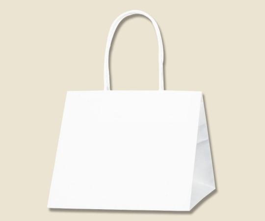 HEIKO 紙袋 Pスムース 22-22 白無地 25枚 003154209