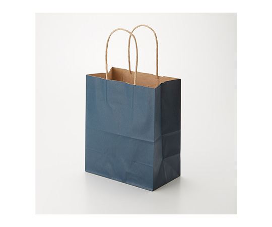 HEIKO 紙袋 25チャームバッグ 25CB 21-12 未晒 紺C 50枚 003266301