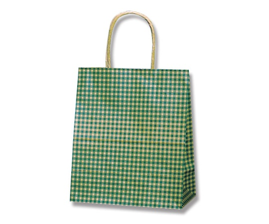 HEIKO 紙袋 25チャームバッグ 25CB 21-12 ギンガム2 G 50枚 003266402
