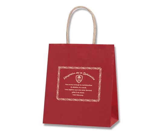 [取扱停止]HEIKO 紙袋 25チャームバッグ 25CB 21-12 スペシャリテ レッド 50枚 003266741
