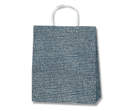 HEIKO 紙袋 25チャームバッグ 25CB S Bカノコ 紺 50枚 003264200