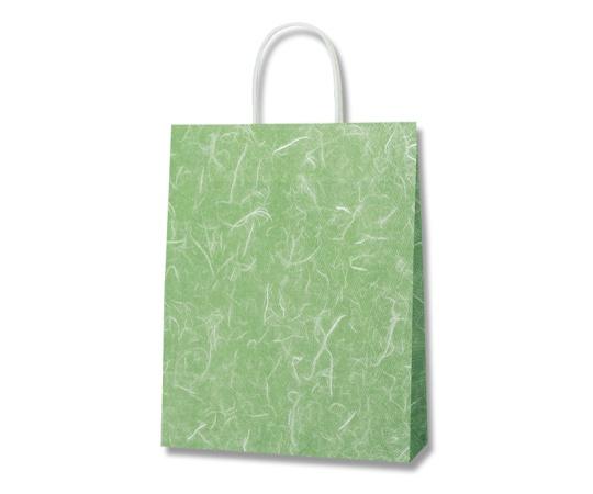 HEIKO 紙袋 25チャームバッグ 25CB MS1 雲竜緑 50枚 003276130